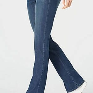 J Jill | authentic fit med wash slim bootcut jeans